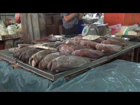 Penang - Bazaar Chowrasta market (Georgetown)