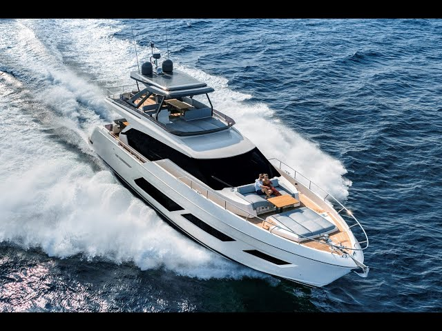 Ferretti Yachts 720: From Land to Sea