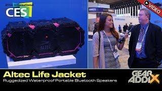 Altec Life Jacket-  Rugged Waterproof Bluetooth Portable Speaker (CES 2014)