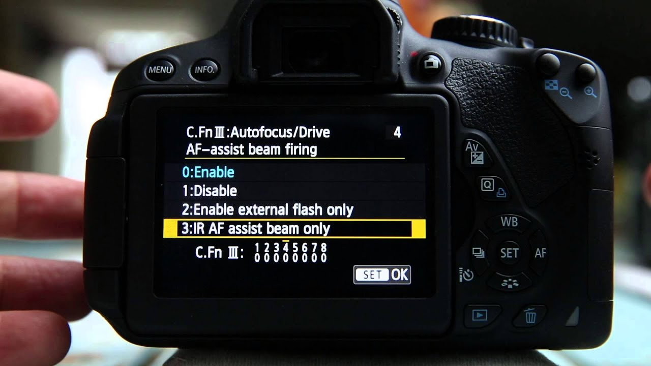 Camera Dslr Camera Features Explained custom functions explained canon t4i youtube