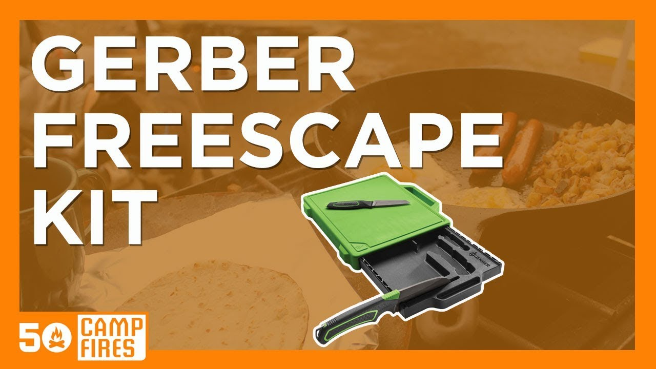 Gerber Freescape Camp Kitchen Kit 50 Campfires YouTube