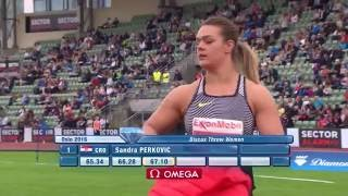 Oslo 2016: Women´s Discus  - Top 3