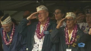 Veterans Remember The Attack On Pearl Harbor