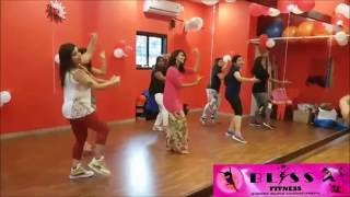 Dance Fitness choreography on Nachde ne saare (Baar Baar Dekho)