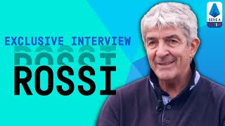 Paolo Rossi: World Cup, Ballon d'or, Golden Boot & Ball Winner! | Exclusive Interview | Serie A