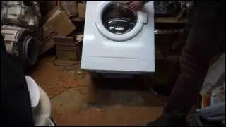 как снять переднюю панель стиральной машины Бош класик 5. Видео №25(Эта операция требуется при замене подшипников, сливного насоса, амортизаторов и тп. Из цикла самостоятельн..., 2015-03-20T09:39:06.000Z)