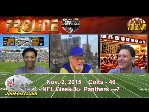 Colts/Panthers NFL Monday Night Football + Free Pick, Nov. 2, 2015