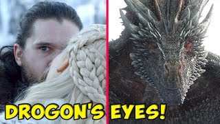 The Truth Behind Drogon\'s Strange Glare At Jon Snow! ⚔️ SEASON 8 🔮