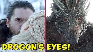 Download The Truth Behind Drogon's Strange Glare At Jon Snow! ⚔️ SEASON 8 🔮 Mp3 and Videos
