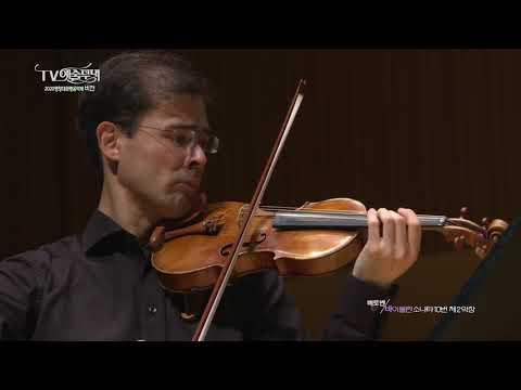 L. V. BEETHOVEN _ Sonata for Piano and Violin no. 10 in G major, op. 96 / Tomo Keller & Jonghai Park