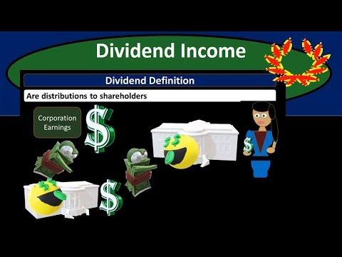 Dividend Taxable Income - Federal Income Tax 2018 2019