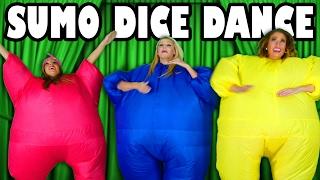 Sumo Dice Dance Challenge. Totally TV