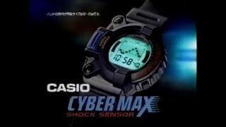 CASIO CYBER MAX SHOCK SENSOR.
