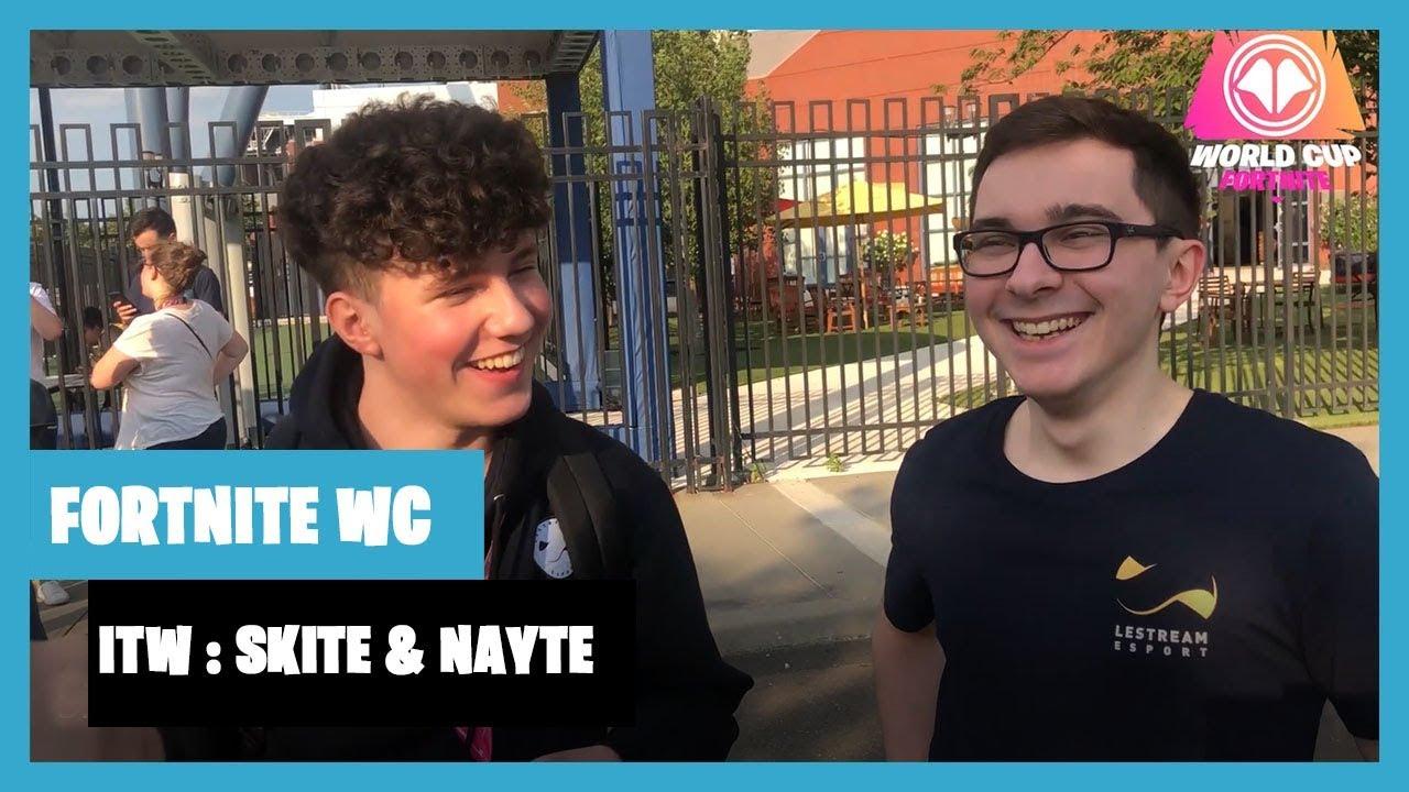 Fortnite World Cup : l'interview de Skite et Nayte après la finale solo