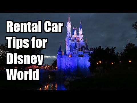 Best Tips for Renting a Car at Walt Disney World in Orlando, Florida!