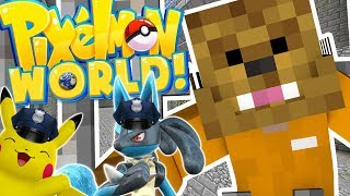 POKEMON MODDED COPS AND ROBBERS HIDE AND SEEK MOD - Minecraft Mod (FUNNY MOMENTS)
