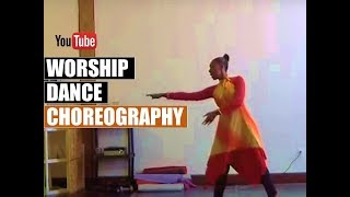 Beginner Worship Dance Combination