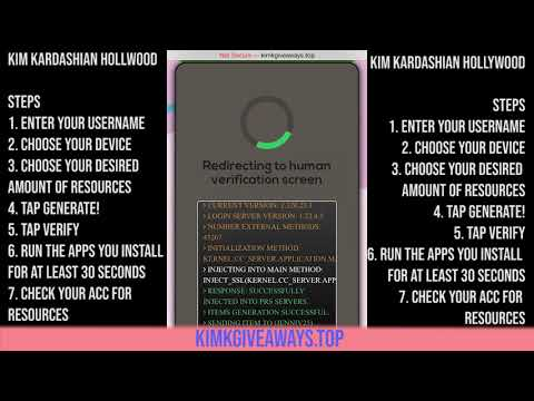 Kim Kardashian Hollywood Hack - Easy Tutorial How To Get Free Cash and Stars on iOS and Android