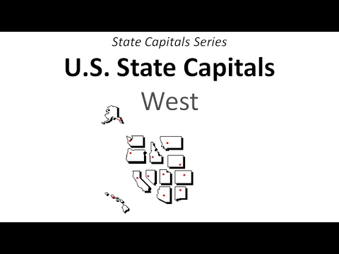 State Capitals Series - West