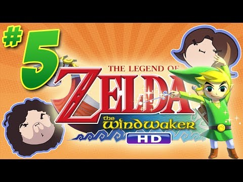 Wind Waker HD: The Friendly Fortress - PART 5 - Game Grumps