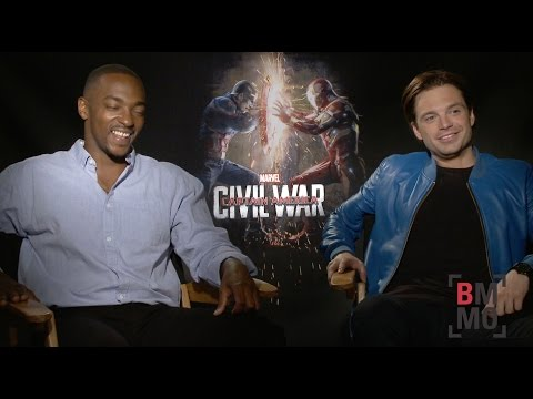 Anthony Mackie & Sebastian Stan Interview - Captain America: Civil War