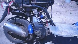 Scooter gaz qachon stalls