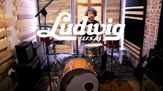 Ludwig Supralite LW6514SL 14x6.5'' Snare Drum, Christopher Schönffeldt Artista Ludwig