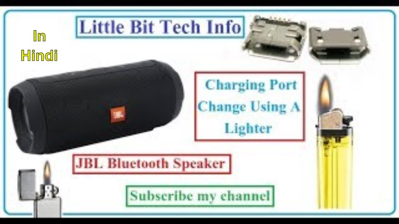 JBL Charge Bluetooth Speaker Repair Charging Port Replacement At Home Easy