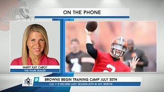 Mary Kay Cabot of The Plain Dealer Talks Cleveland Browns on The RE Show - 7/22/15