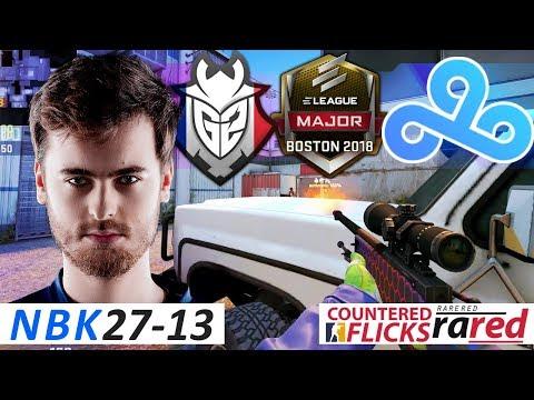 NBK 27-13 / G2 vs C9 / ELEAGUE Boston Major 2018 / Swiss R1