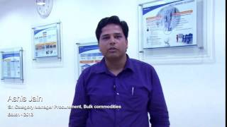 Ashis Jain, Sr. Category Manager Procurement, Bulk Commodities