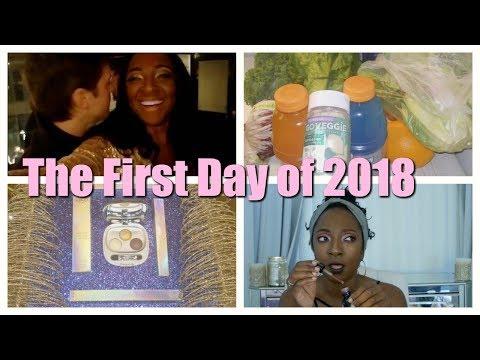 Day 1 of 2018 Vlog- Eating Vegan, Running the LA Marathon, and Santa Monica