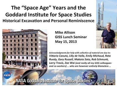 Seminar: Michael Allison, 2013-05-15