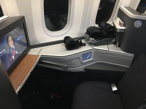 AA BUSINESS CLASS l Sydney - Los Angeles l 787-9