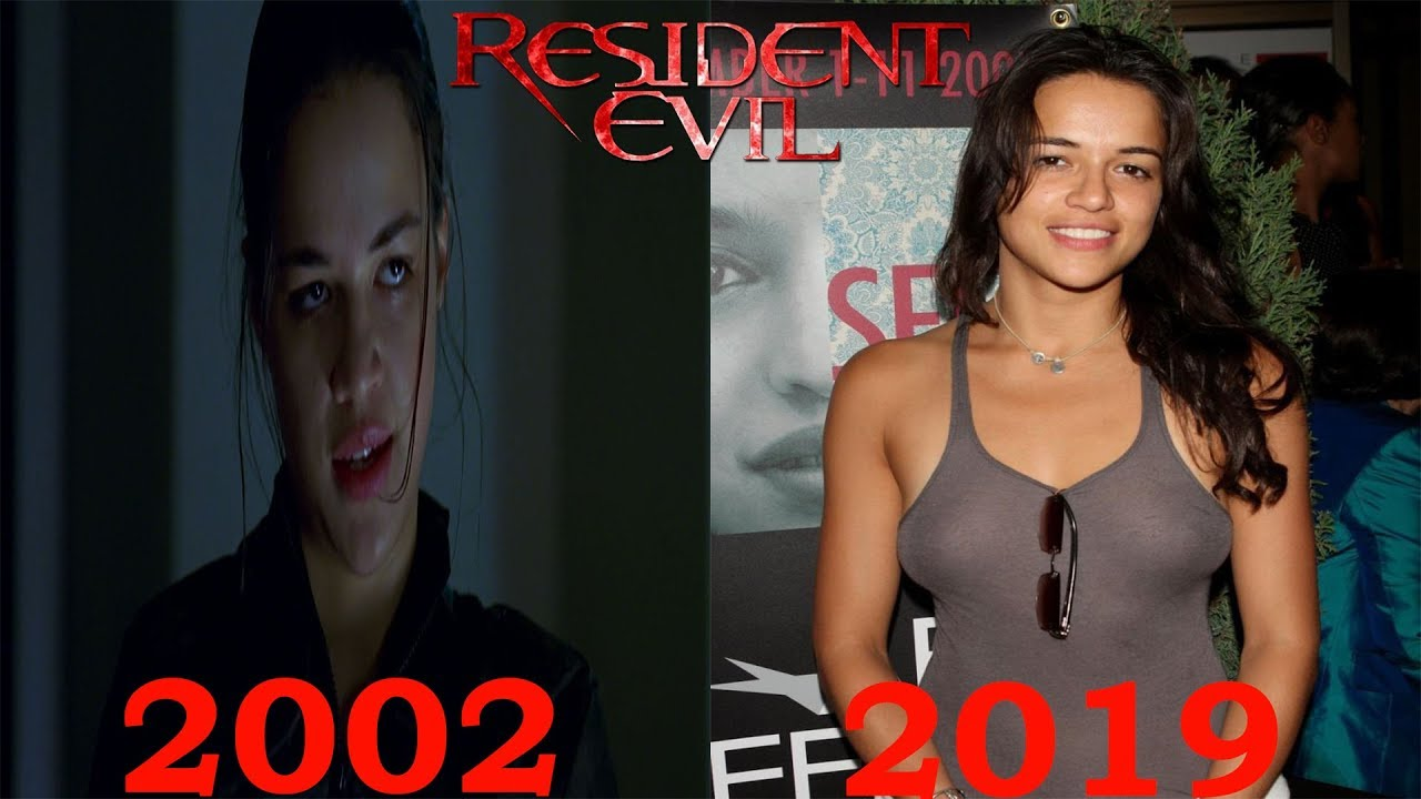 Resident Evil 2002 Cast Then And Now 2019 Youtube