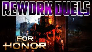 [For Honor] Reworked Conqueror Vs Berserker! Spliced VS Havok! thumbnail