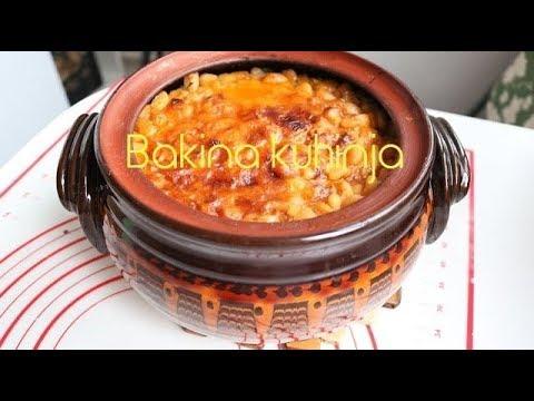 Bakina kuhinja - kako se kuva gust posan pasulj