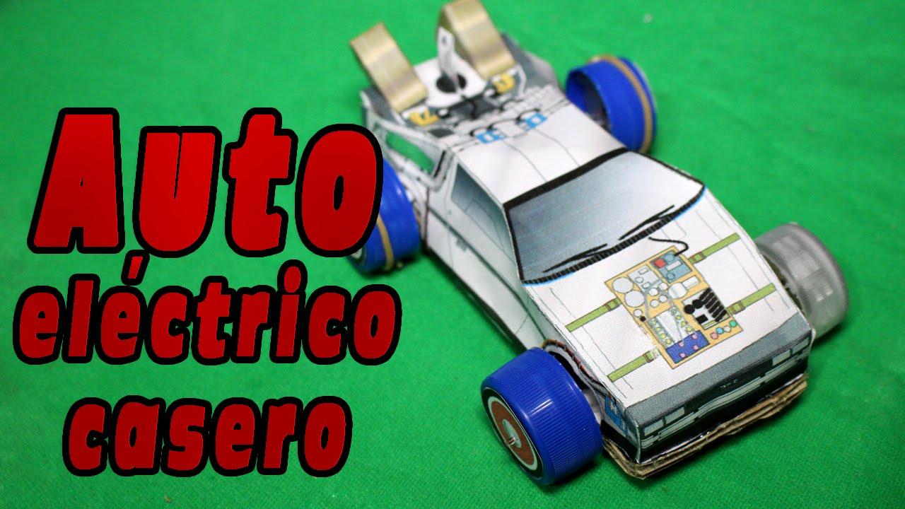 Fabrica tu propio auto eléctrico casero - YouTube