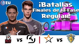 CRL Europa: Misfits v. SK Gaming   Allegiance v. Team Queso