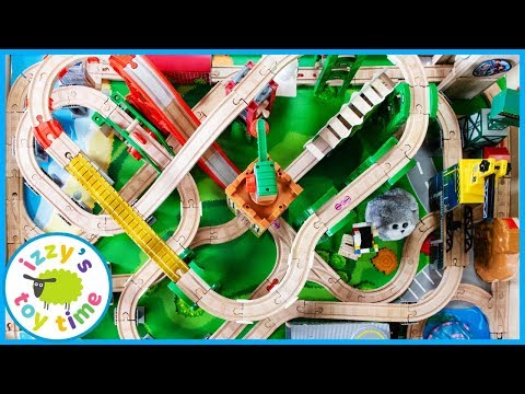 Thomas and Friends Throwback Table Track! Fun Toy Trains for Kids!