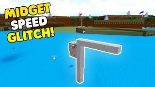 *NEW* MIDGET SPEED GLITCH!? | Build A Boat For Treasure ROBLOX