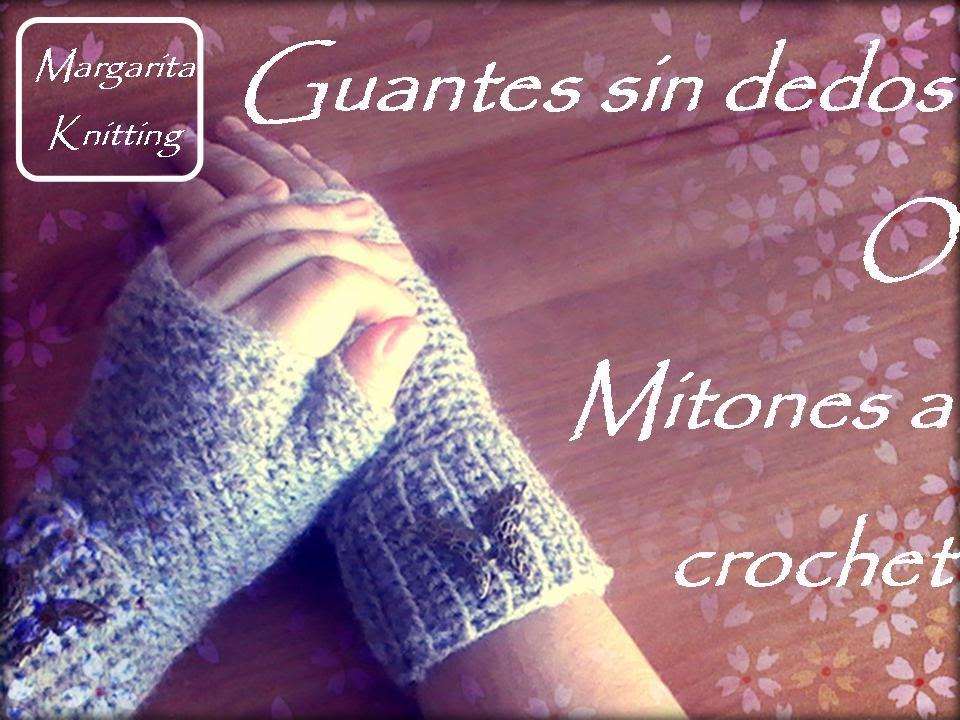 Asombroso Los Patrones De Crochet Libre Fácil Para Los Guantes Sin ...
