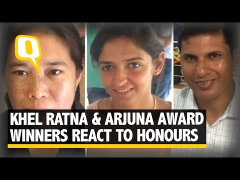 'Very Proud': Khel Ratna & Arjuna Award Winners React to Honours - The Quint