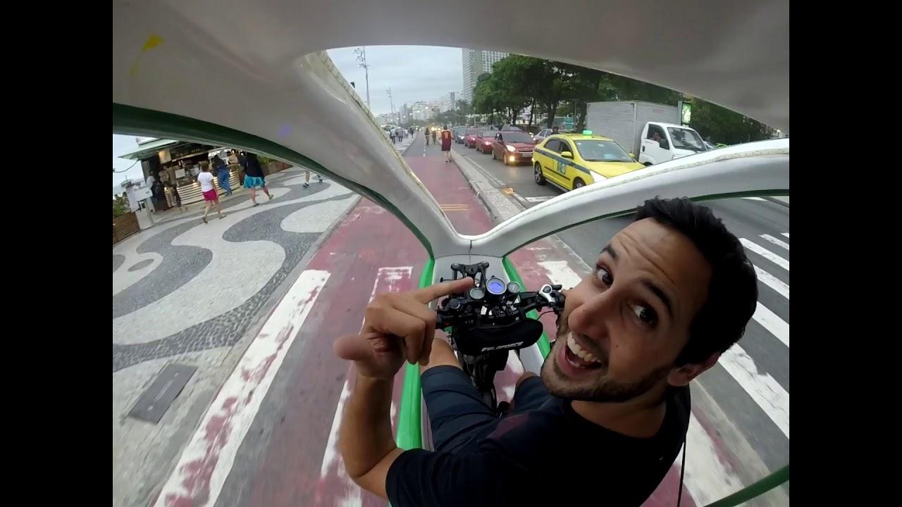 LED NIGHT TUK-TUK RIDE - Copacabana to Leblon