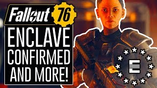 FALLOUT 76 - ENCLAVE CONFIRMED! How Factions Work in FO76!?!