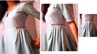 latest kurti design cutting and stitching very easy