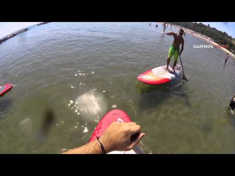 My first SUP lesson in Pesaro [HD]