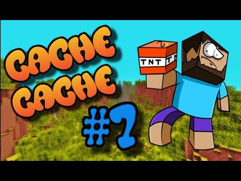 CACHE CACHE SUR MINECRAFT MAP GROTTE EPISODE YouTube - Minecraft die grobten hauser