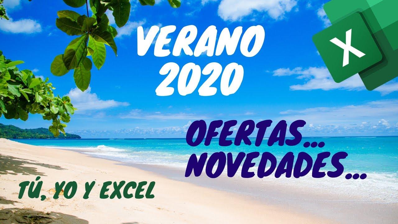 Ofertas y Promociones Verano 2020 en TúYoyExcel.com - Curso Power BI - Plantillas GRATIS - Encuestas