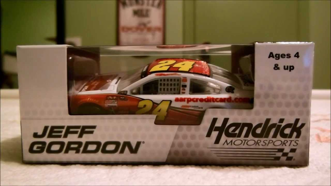Gordons Credit Card >> Diecast Review On Jeff Gordon S Aarp Chase Visa Credit Card Chevy